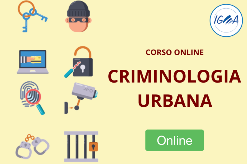 corso online criminologia urbana