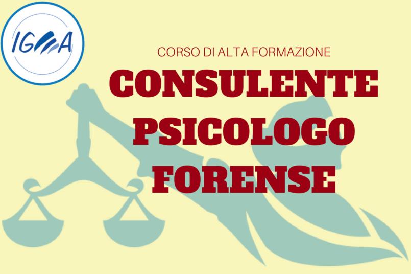 CONSULENTE PSICOLOGIA GIURIDICA E FORENSE